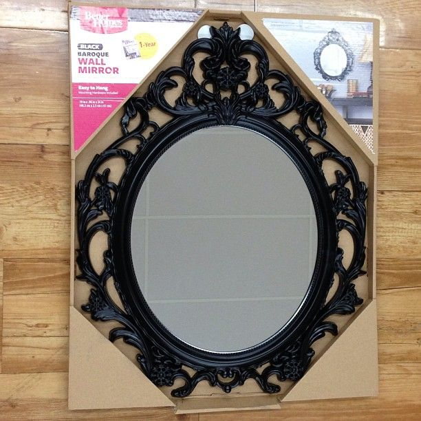 This was at our local walmart supercenter better homes for Better homes and gardens baroque wall mirror