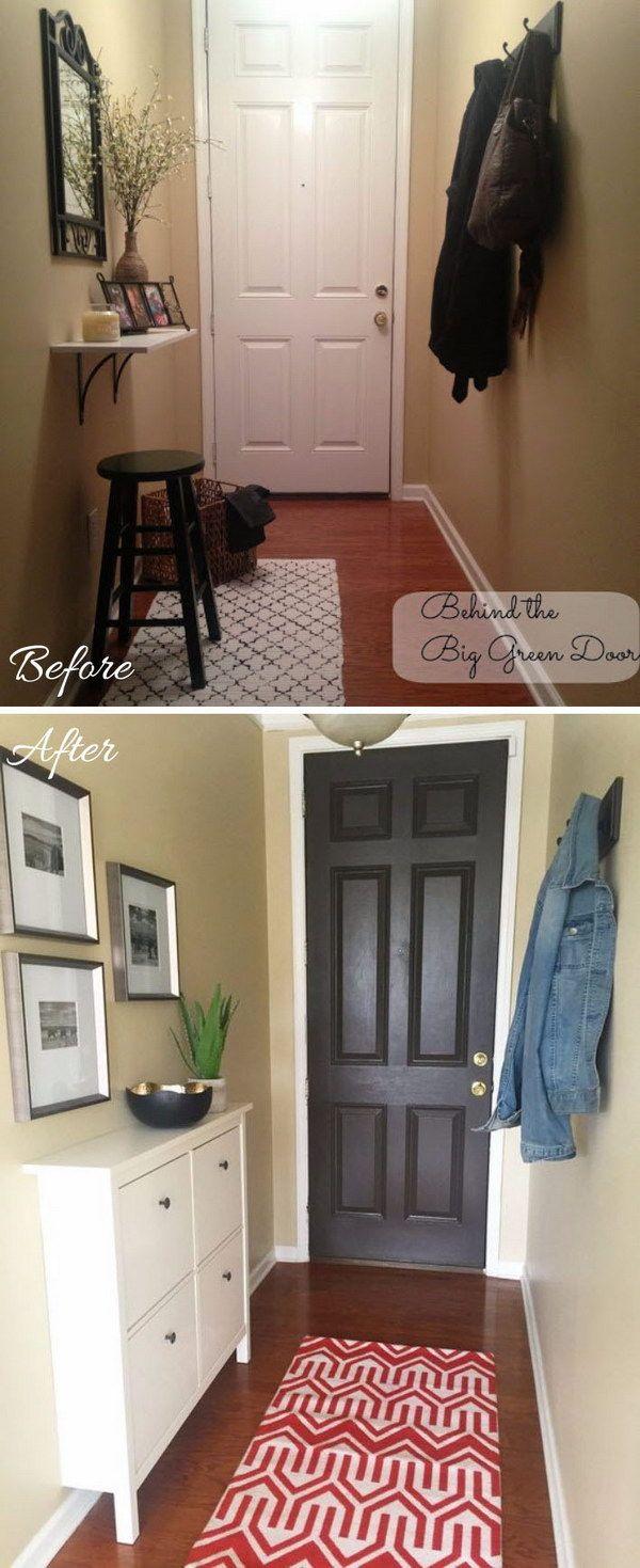 Best 25 narrow entryway ideas on pinterest narrow for Foyer cabinet ideas