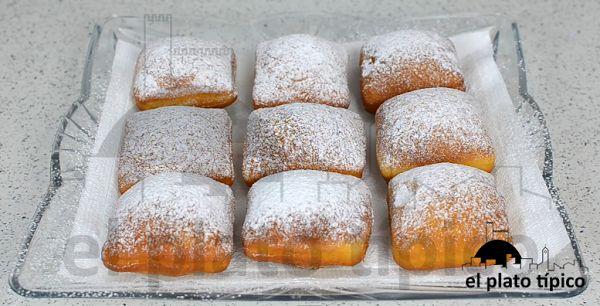 Buñuelos de New Orleans (Nueva Orleans) Beignets ¿Cómo se hacen? | Cocinar en casa es facilisimo.com