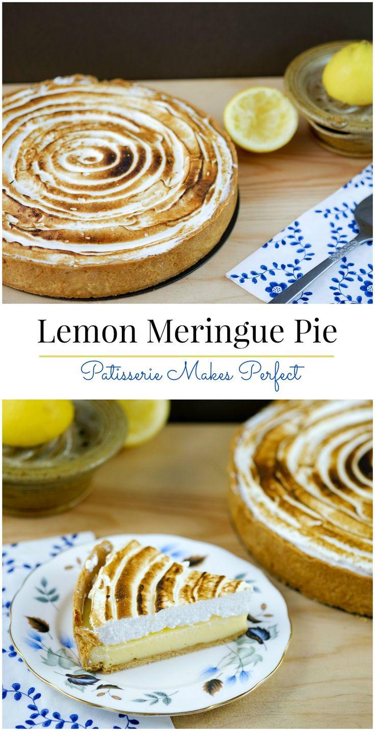 Lemon Meringue Pie | Patisserie Makes Perfect