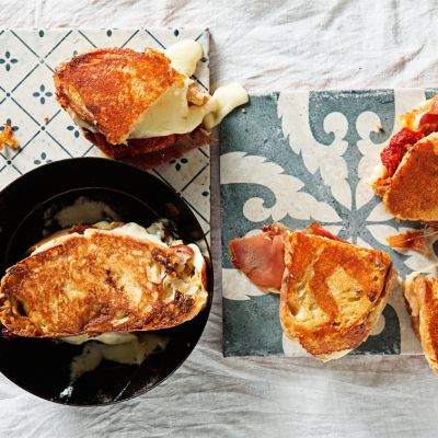 Taste Mag | Italian toasted cheese, ham and tomato sandwich @ https://taste.co.za/recipes/italian-toasted-cheese-ham-and-tomato-sandwich/