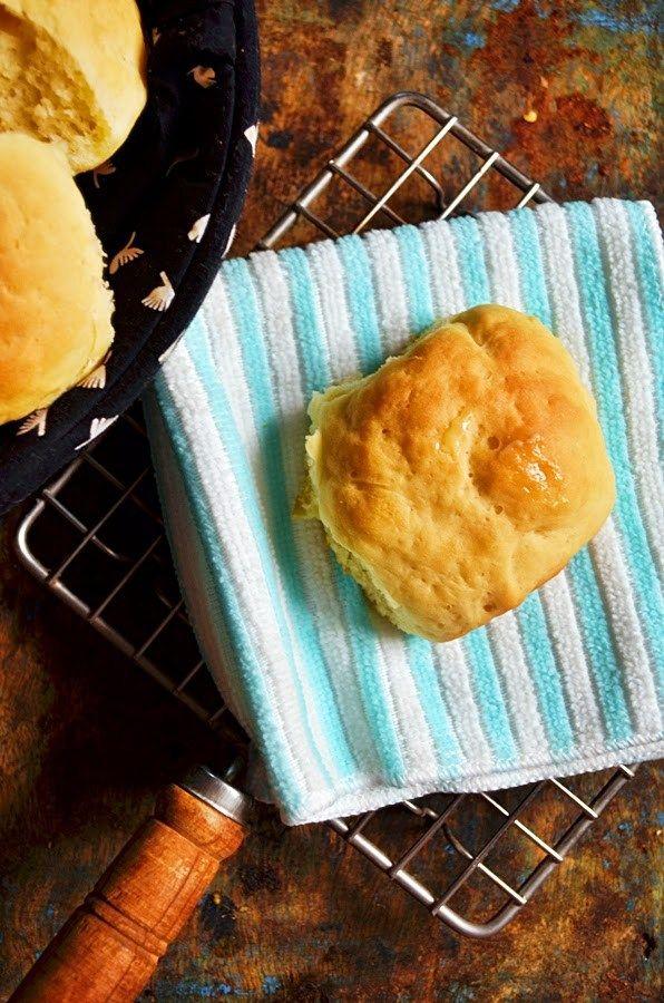 Homemade pav/pao bun recipe | how to make pav/pao bun at home | Cook click n devour!!!