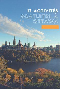 On vous propose 13 activités gratuites à essayer à Ottawa cet été!