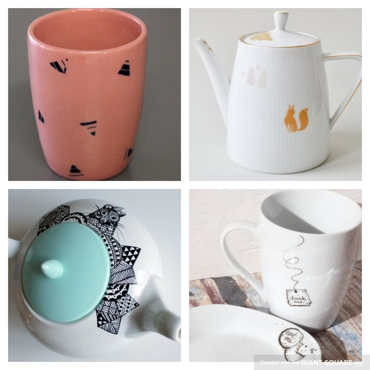 Tea time! All from etsy..