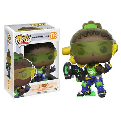 (affiliate link)  Overwatch Lucio Pop! Vinyl Figure