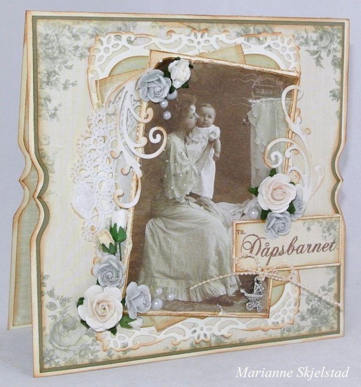 Dåpskort » Pion Design's blog