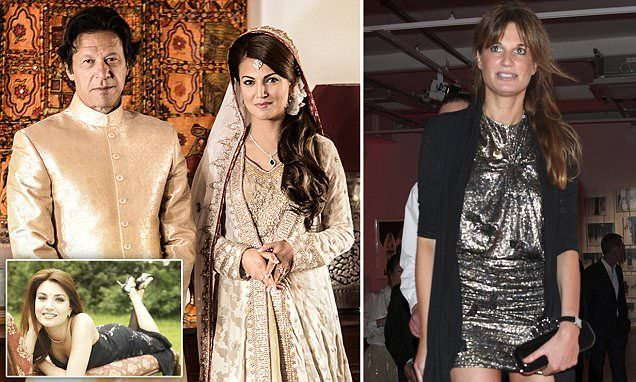 Jemima Goldsmith accused of trying to ruin Imran Khan's new marriage