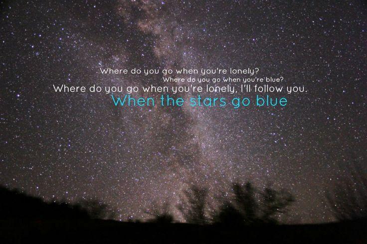 When The Stars Go Blue ~ Tim McGraw