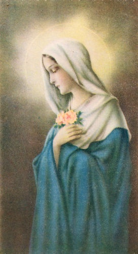 Vintage Catholic Holy Prayer Card   Copyright 1939----Holy cards were an integral part of my childhood. Loved to get one for something special.