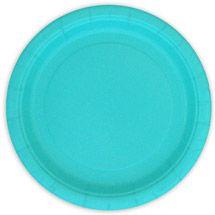 "Walmart: 7"" Terrific Teal Dinner Plates, 24-Count"