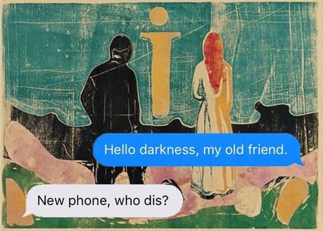 This Is The Most Hilariously Dark Instagram Account Ever Dark Humor Classical Art Memes Happy Memes