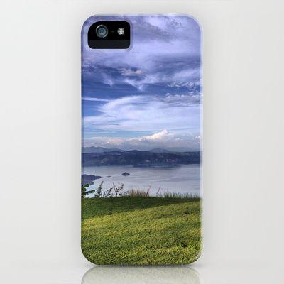 Lake Ilopango iPhone & iPod Case by Milo_ - $35.00