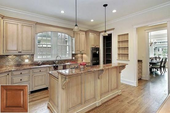 Tips about - how to make honey oak cabinets look modern ...