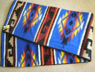 Bunkhouse Style Southwestern Blanket 6x7 (bh7)