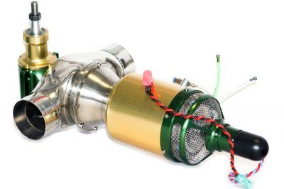 The RC Jet Turbine Engine for Helicopters.