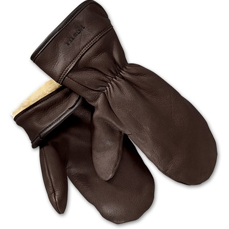Filson Lined Leather Mittens ($110)