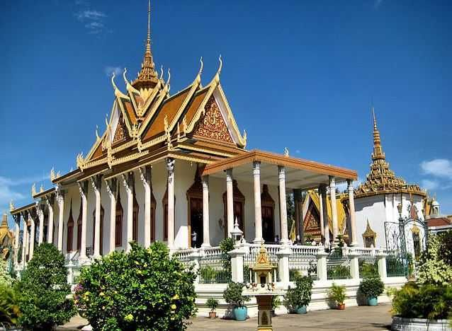 Silver Pagoda - Top 10 Tourist Attractions in Cambodia  http://www.traveloompa.com/top-10-tourist-attractions-in-cambodia/
