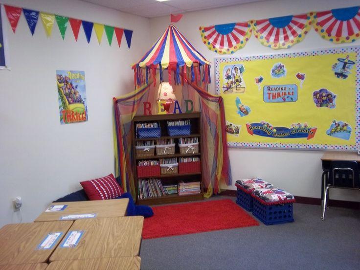Carnival Themed Reading Corner Classroom Decor Carnival