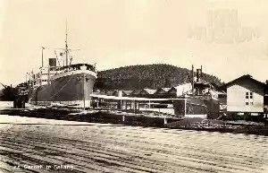Het ss Garoet in Sabang - 1924