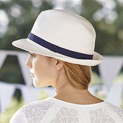 Trilby Hat - Natural