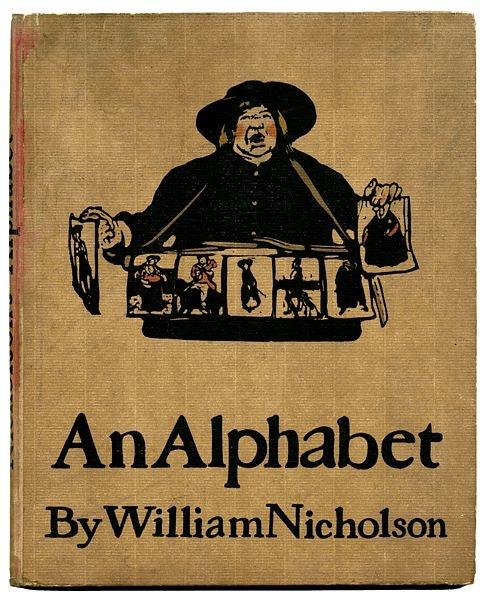 """An Alphabet"" by William Nicholson (1898)"