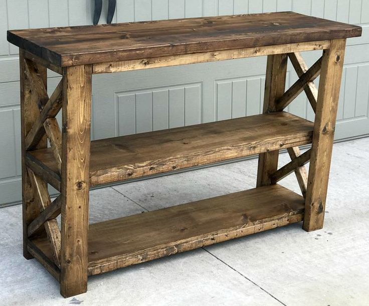 front entryway furniture. step by instructions on how to build this rustic x entryway console front furniture m