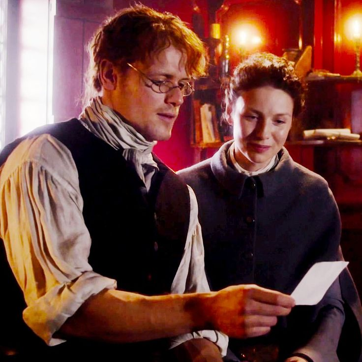 That's your daughter, Jamie, Claire tells him. Outlander