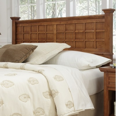 Mission style headboard queen plans woodworking projects for Arts and crafts bed plans