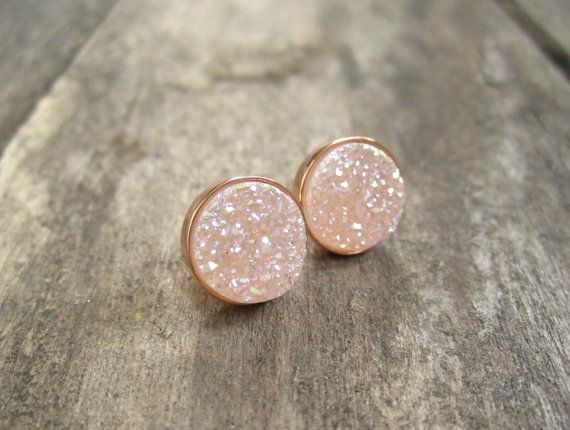 17 best ideas about rose gold earrings on pinterest rose. Black Bedroom Furniture Sets. Home Design Ideas
