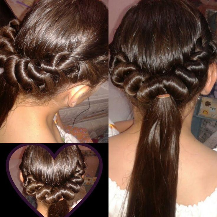 325 best images about peinados p ni as videos on - Peinados para ninas faciles de hacer ...