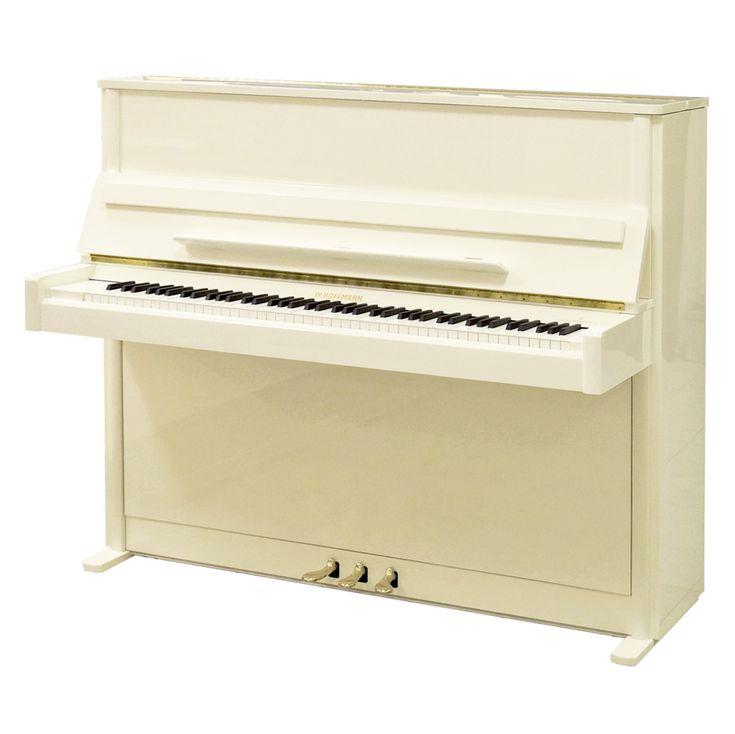 Пианино W. Hoffmann Vision Nova V 120 белое, полированное