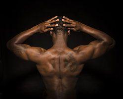 Human Form Black Male Model