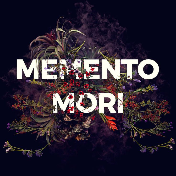 Memento Mori Floral Digital Illustrations – Fubiz Media
