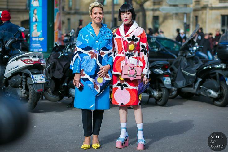 Mademoiselle Yulia and Ksenia Chilingarova by STYLEDUMONDE Street Style Fashion Photography