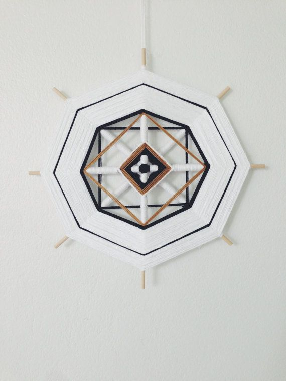 Woven Mandala Ojo de Dios by ACSOB on Etsy