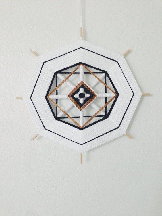 Woven Mandala Ojo de Dios by ACSOB on Etsy