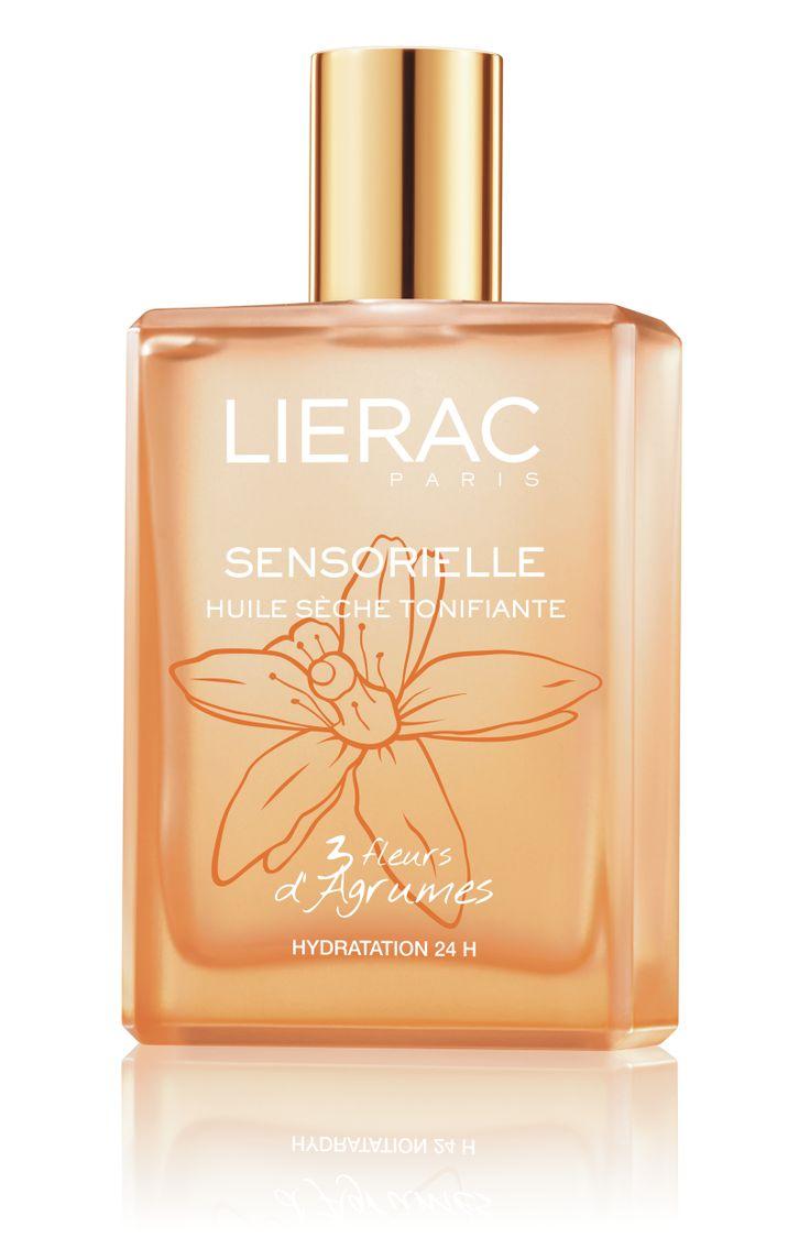 L'Huile sèche tonifiante aux 3 Fleurs d'Agrumes #Sensorielle #LieracParis