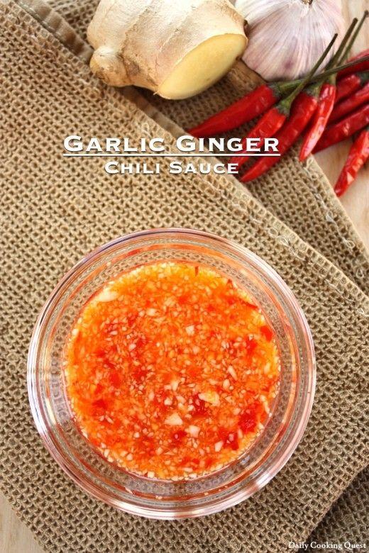 Garlic Ginger Chili Sauce