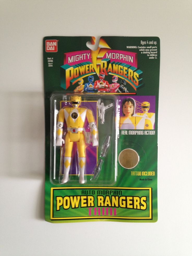 Mighty Morphin Power Rangers by ThingsIBuyForYou on Etsy