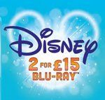 2 Disney Blu-Ray for 13.50 2 Disney DVD for 10.80 both prices are delivered price using code SIGNUP10 @ zoom.co.uk