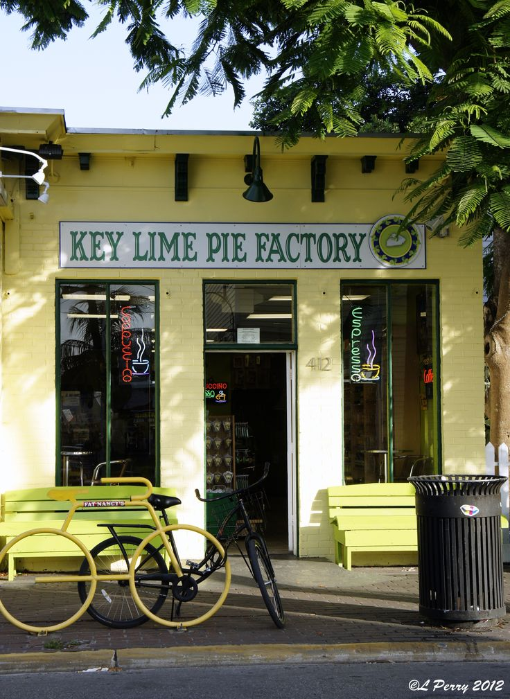 Key Lime Pie Factory Key West, Florida. Yummmmmmy....been there many times....Bennie's mom was born in Key West and we honeymooned there.