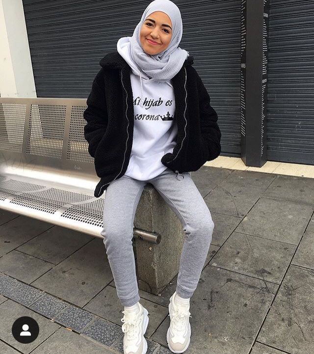 Pin By Elmedina On Hijab In 2019 Muslim Fashion Outfits Street