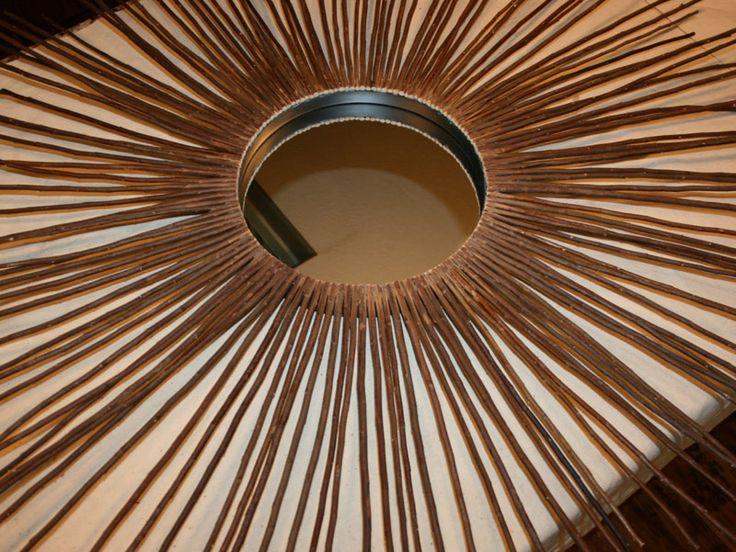 Поделки для дома - зеркало лесной феи своими руками
