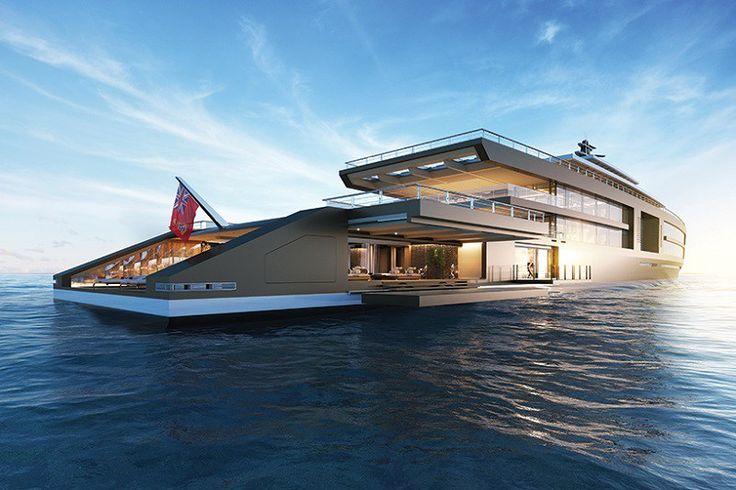 Yat tasarım firması Sinot tarafından hazırlanan ve tasarlanan bu lüks yat tam 120 metre uzunluğunda. Muhteşem görüntüye ve konsepte sahip