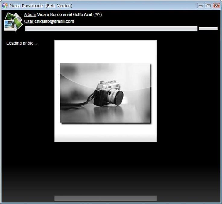 Picasa Album Downloader 1.0-Beta - Descargar