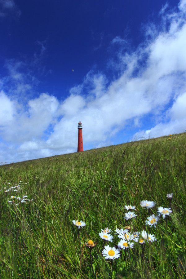 Lighthouse in Den Helder.