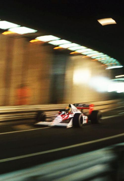 The best place for the king of Monaco is the tunnel!