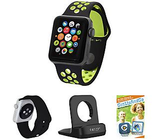 Apple Watch Sport Nike+ 42mm with Extra Sport Band & Stand