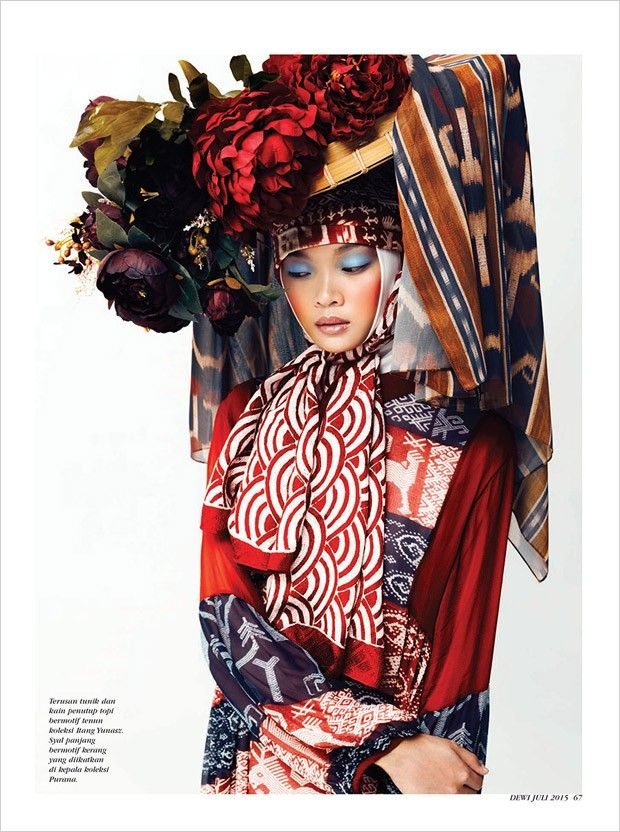 """indonesianmodels: """"Fiona Nathaniel by Ryan Tandya for Dewi Magazine July 2015 """""""