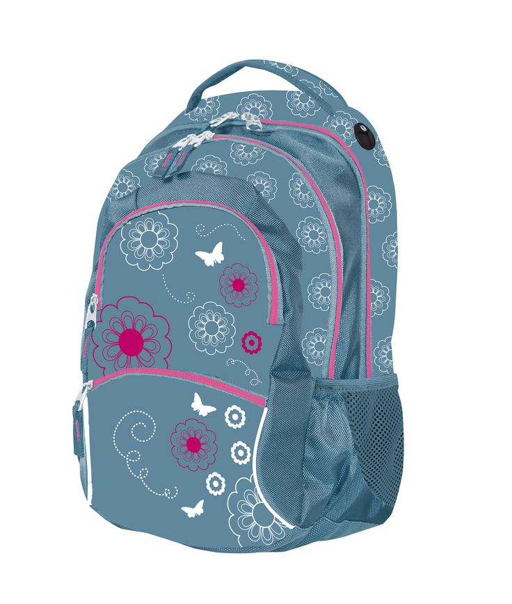 School Bag Silver/ Školní batoh Silver